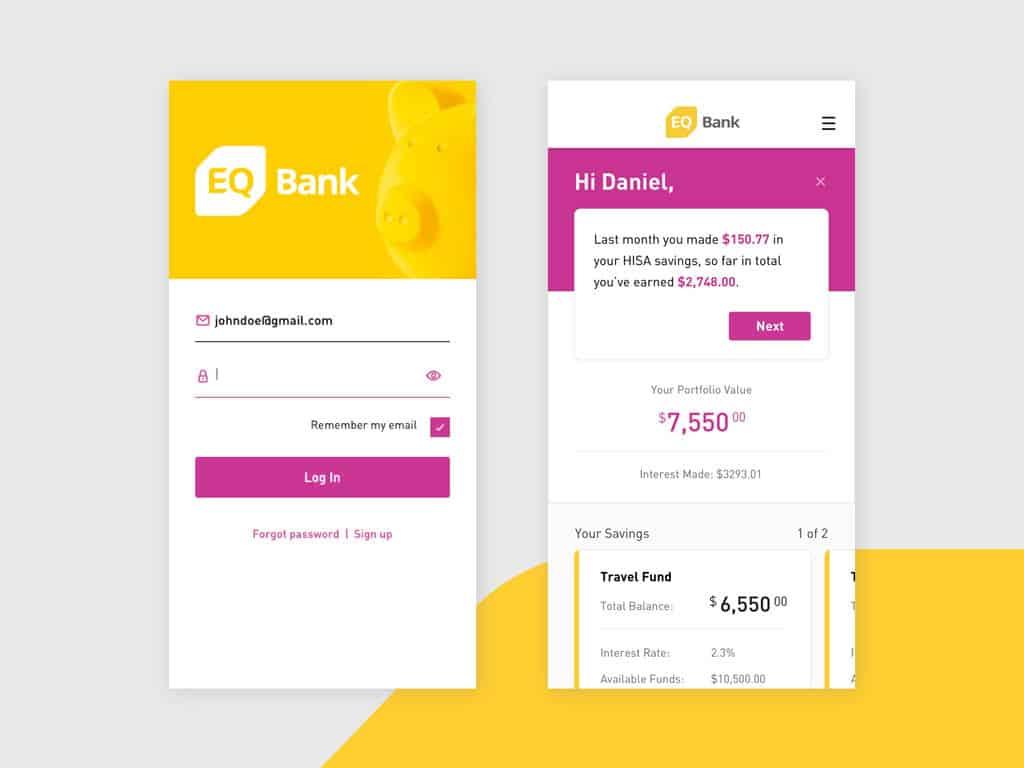 eq bank login comparewise - Comparewise