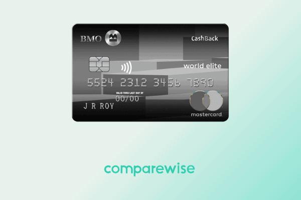 BMO CashBack World Elite Mastercard - Comparewise