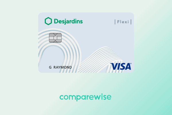 low interest credit cards Desjardins-Flexi-Visa-Card-Comparewise