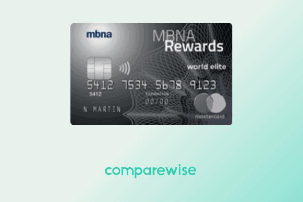 MBNA Rewards World Elite Mastercard - Comparewise