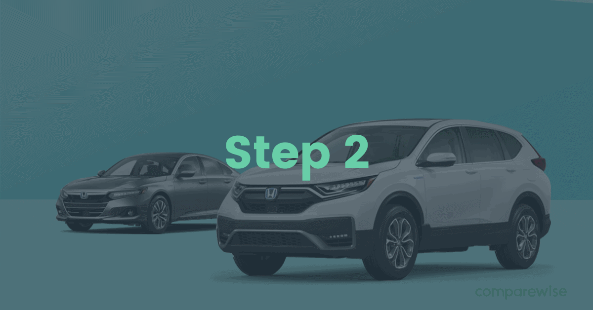 2. Where can I apply for car finance? - step 2