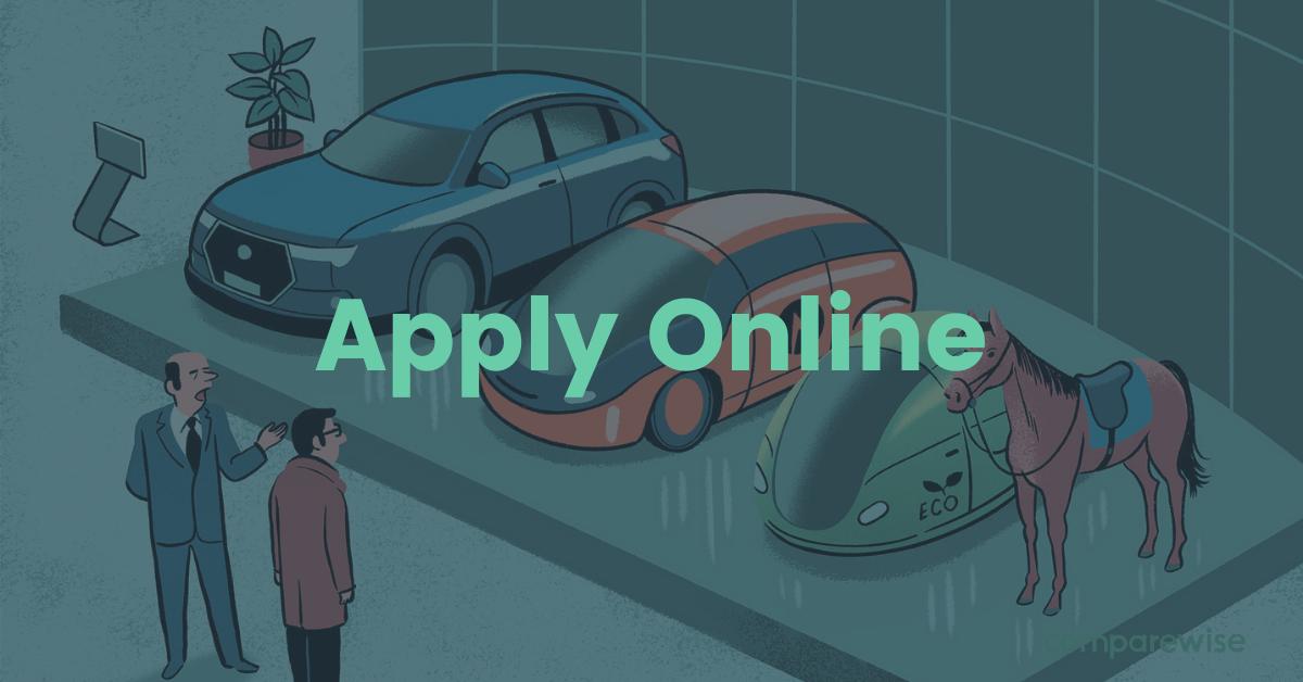 4. Shop your car online - comparewise