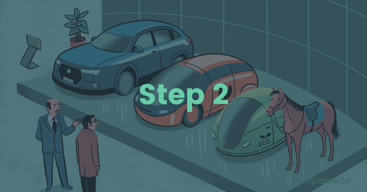 Step 2 choosing the prefect electric car - comparewise