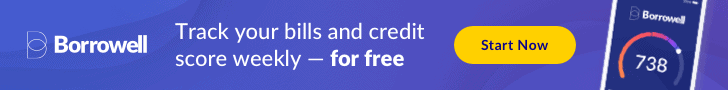 borrowell track your bills and credit score weekly for free comparewise - Comparewise