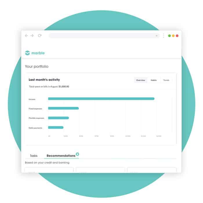 mymarble dashboard 2 comparewise - Comparewise