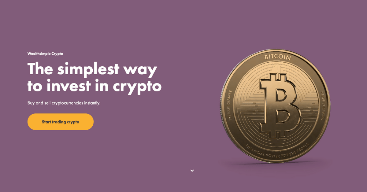 Wealthsimple crypto 1 - comparewise