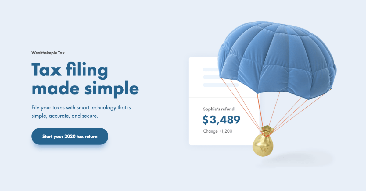 wealthsimple tax 1 - comparewise